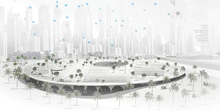 ARCHmedium Competition   Justin Lai, Jack Lipson And Haley Chan   Awarded  Second Prize In ArchMedium International Competition U0027DGEFu0027