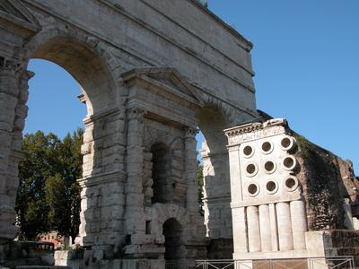 Image gallery porta maggiore old wall and aqueducts rome - Rome porta maggiore ...