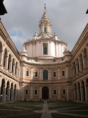 Image Gallery: St. Ivo della Sapienza, Francesco Borromini ...
