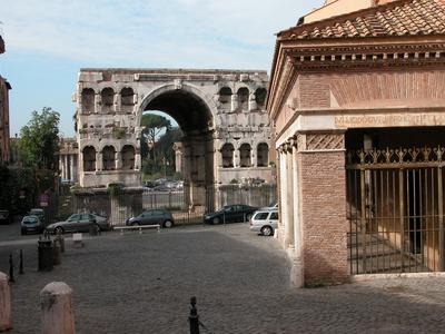 Image gallery san giorgio al velabro and palatino rome for Arco arredamenti san giorgio