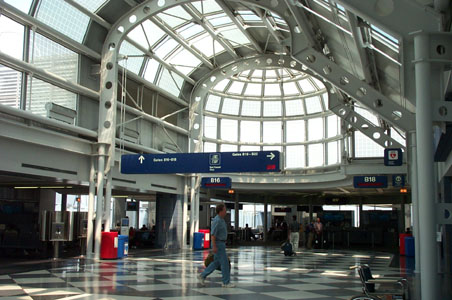 Image Gallery United Airlines Terminal O Hare