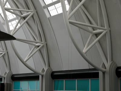 Steel Project Case Study Gallery Salt Palace Salt Lake