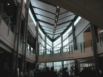 Steel Project Case Study Gallery Telus Centre University