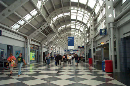 Steel Project Case Study Gallery United Airlines Terminal